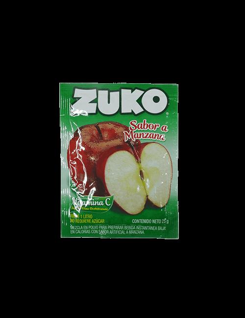 Refresco en Polvo Zuko 25g Manzana