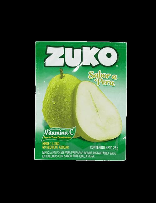 Refresco en Polvo Zuko 25g Pera