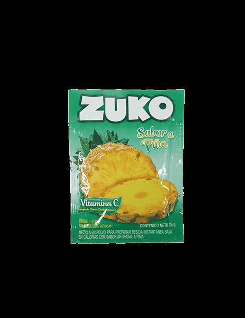 Refresco en Polvo Zuko 25g Piña