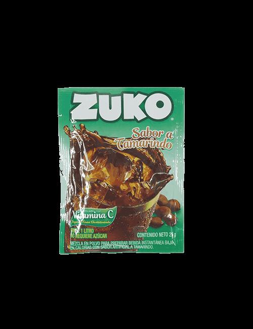 Refresco en Polvo Zuko 25g Tamarindo