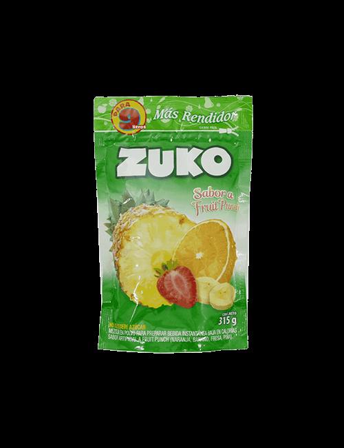 Refresco en Polvo Zuko 315g Fruit Punch