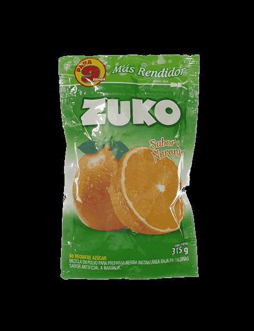 Refresco en Polvo Zuko 315g Naranja