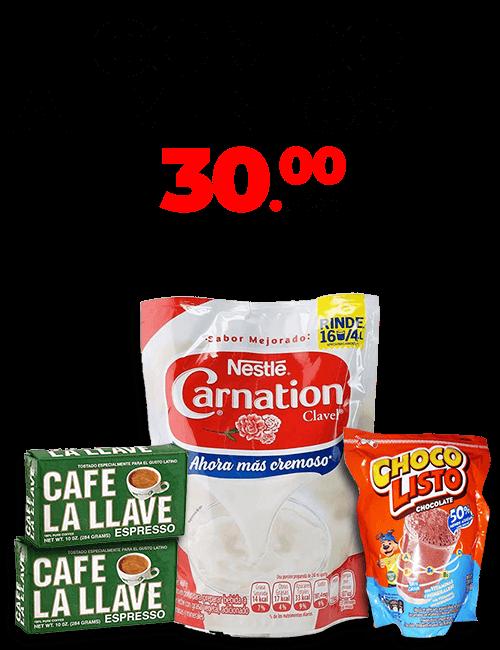 Combos de Alimentos 1