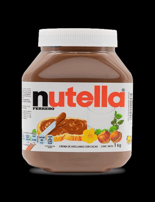 Nutella Crema de Avellanas y Chocolate 1kg