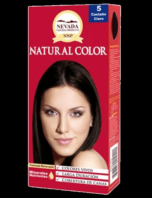Tinte Natural Color - Castaño Claro 5