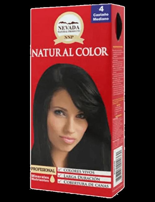 Tinte Natural Color - Castaño Mediano 4