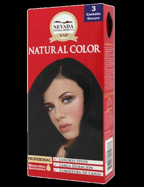 Tinte Natural Color - Castaño Oscuro 3