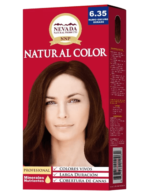 Tinte Natural Color - Chocolate 6.35
