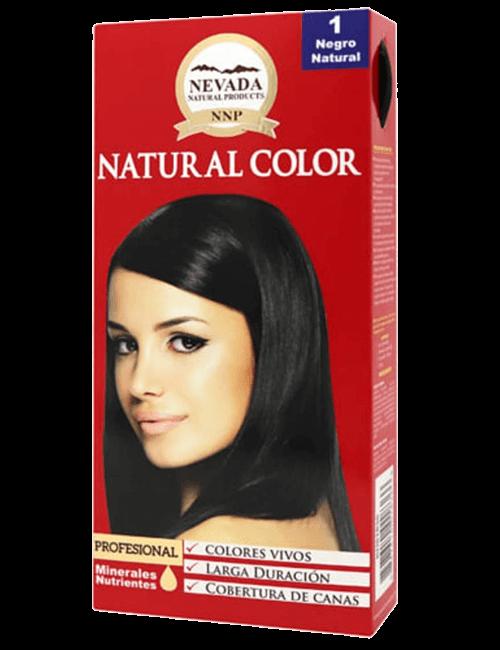 Tinte Natural Color - Negro Natural 1