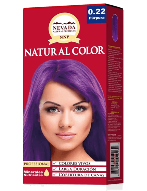 Tinte Natural Color - Purpura 0.22