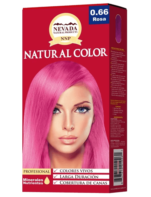 Tinte Natural Color - Rosa 0.66