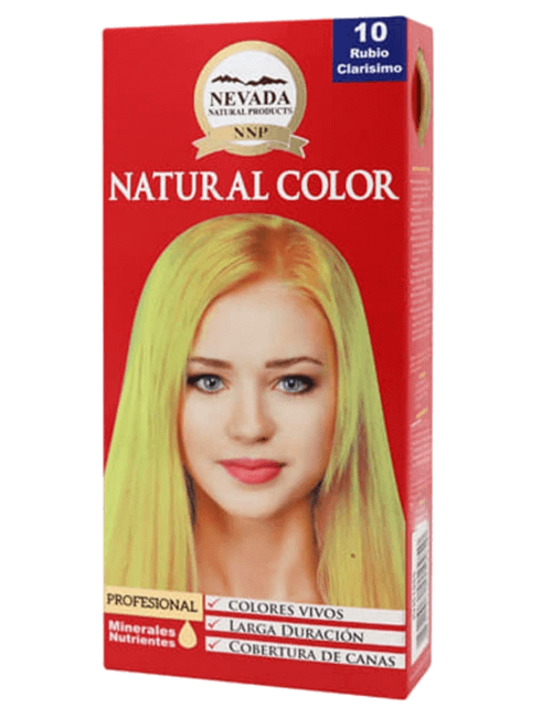 Tinte Natural Color - Rubio Clarisimo 10