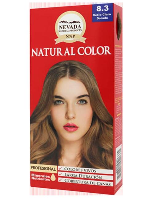 Tinte Natural Color - Rubio Claro Dorado 8.3