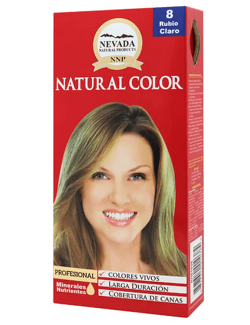 Tinte Natural Color - Rubio Claro 8