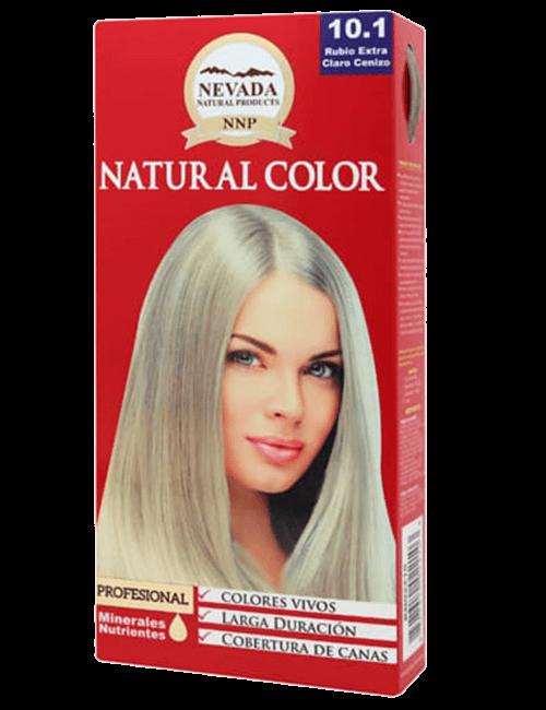 Tinte Natural Color - Rubio Extra Claro Cenizo 10.1