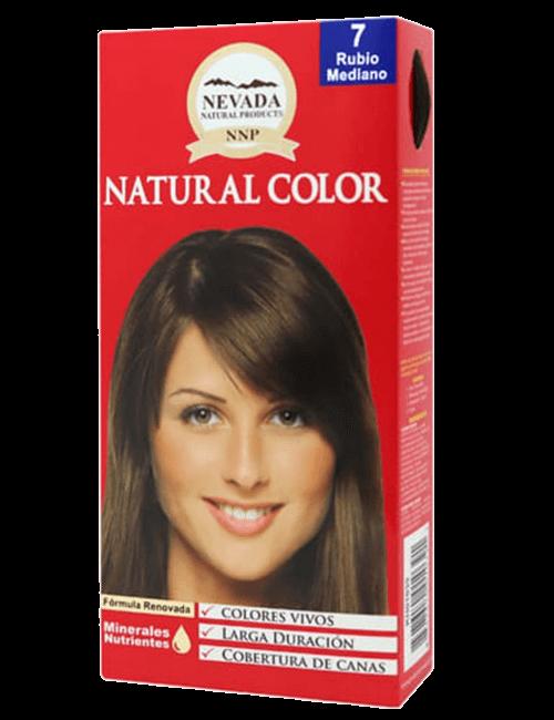 Tinte Natural Color - Rubio Medio 7