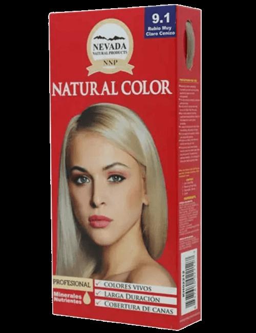 Tinte Natural Color - Rubio muy Claro Cenizo 9.1