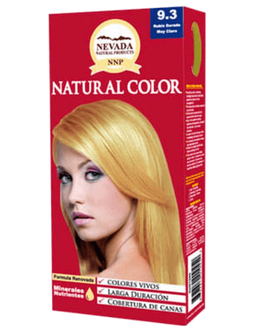 Tinte Natural Color - Rubio muy Claro Dorado Intenso 9.33
