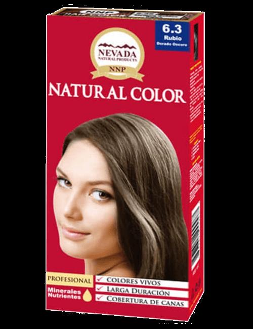 Tinte Natural Color - Rubio Oscuro Dorado 6.30