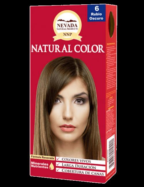 Tinte Natural Color - Rubio Oscuro 6