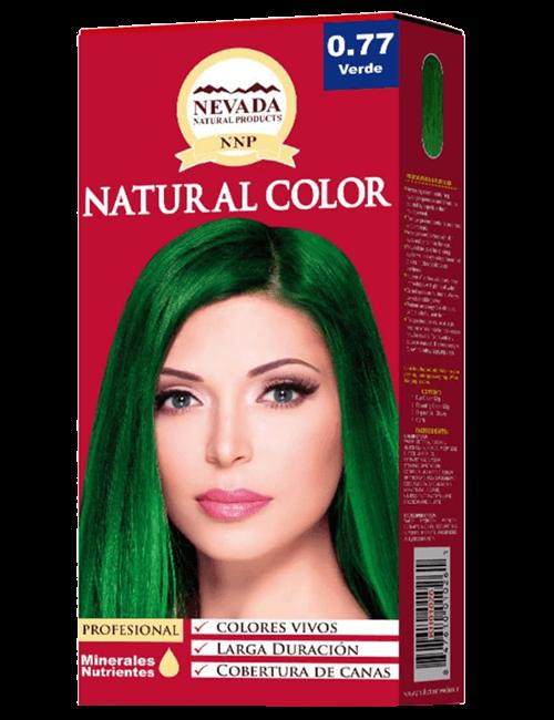 Tinte Natural Color - Verde 0.77
