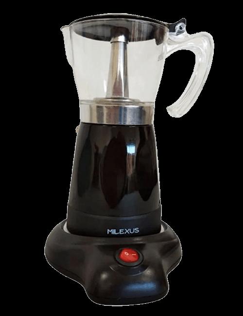 Cafetera eléctrica de 6 tazas MILEXUS