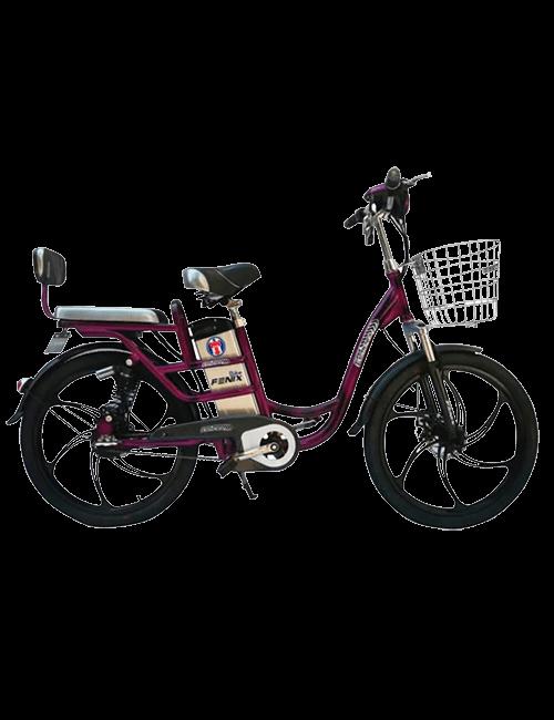 Bicicleta eléctrica FENIX 350W - morado