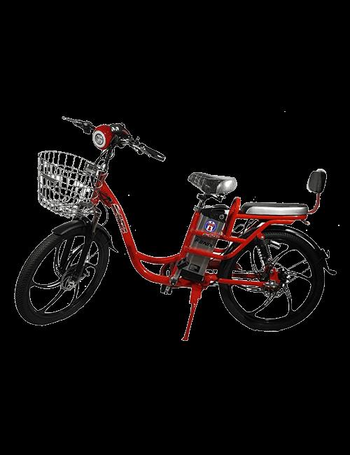 Bicicleta eléctrica FENIX 350W - Rojo