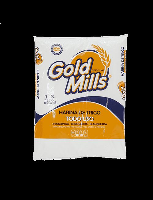 Harina de Trigo Gold Mills 454g