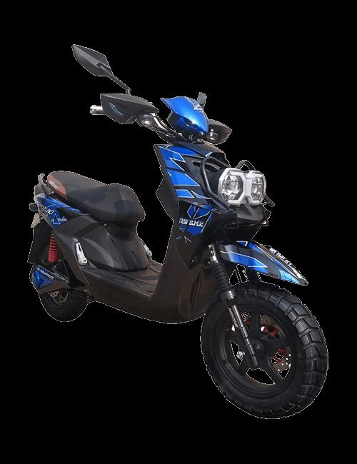 Moto eléctrica MISHOZUKI BUHO 2 40A - Azul