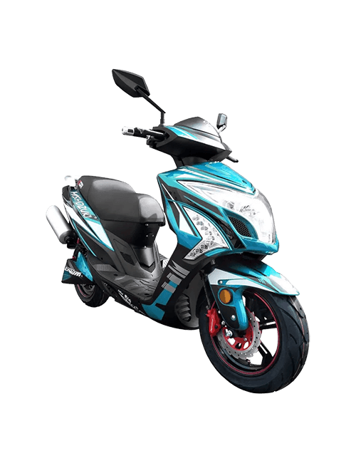 Moto eléctrica MISHOZUKI NBS-2 PRO 45AH - Azul