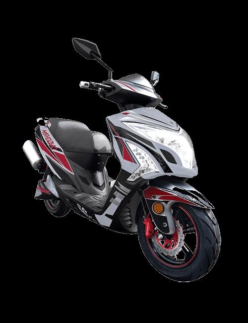 Moto eléctrica MISHOZUKI NBS-2 PRO 45AH - gris