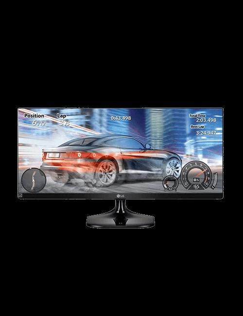 "Monitor UltraWide LG FHD 25"""