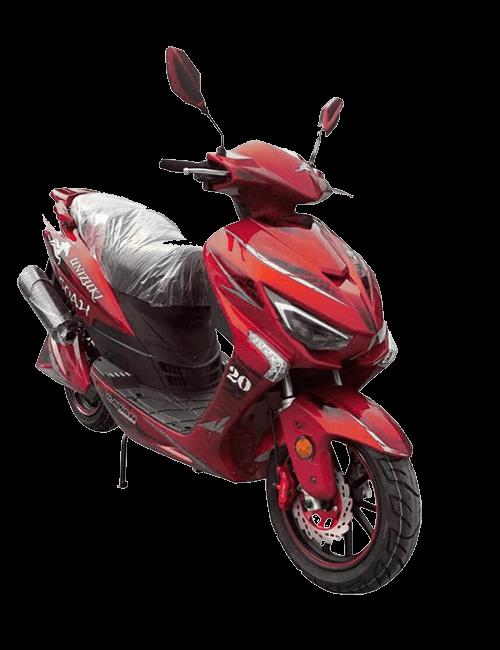 Moto eléctrica UNIZUKI 50AH Rojo
