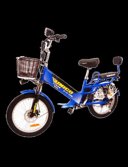 Bicicleta eléctrica UNICO 500W - Azul