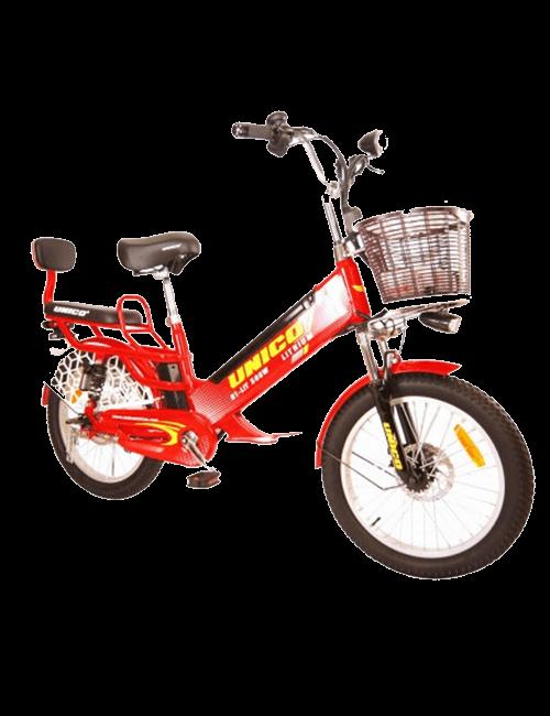 Bicicleta eléctrica UNICO 500W - Rojo