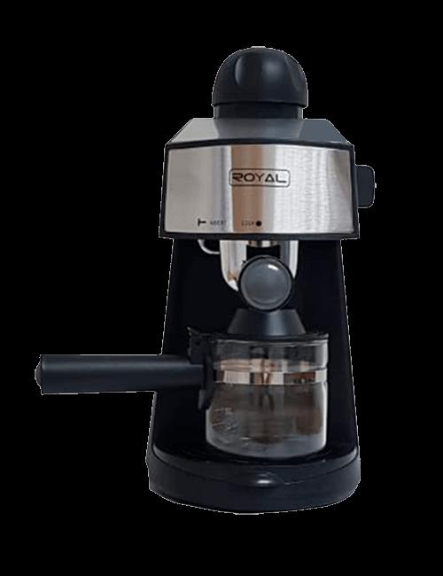 Cafetera capuccino espresso de 6 taza ROYAL