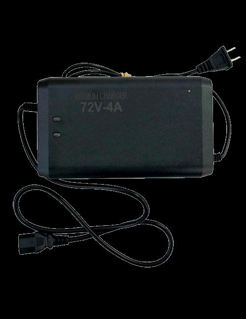 Cargador para baterías de Lithium 72V 4AH
