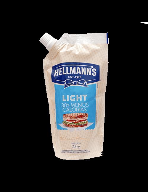 Mayonesa Hellmanns 200g Light