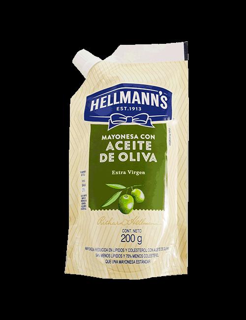 Mayonesa Hellmanns 200g de Oliva