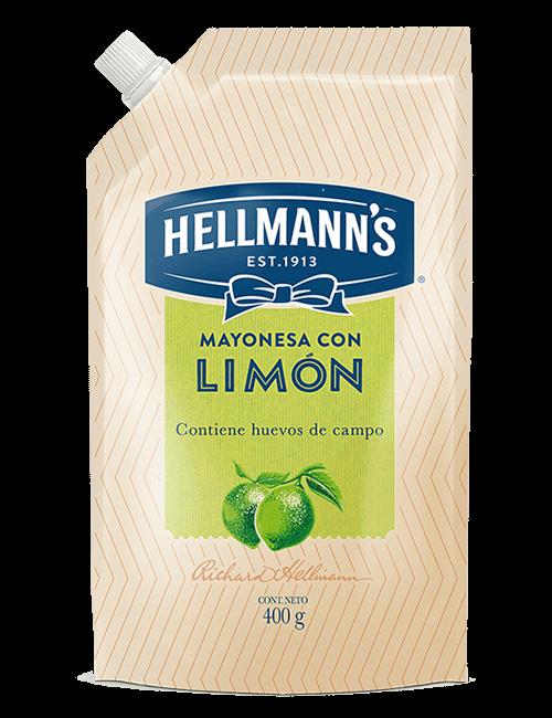Mayonesa Hellmanns 400g con Limón