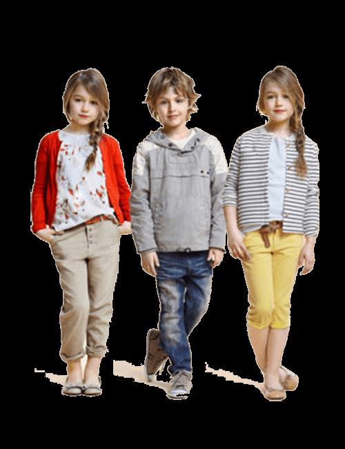 Niñas de 2 a 12 años