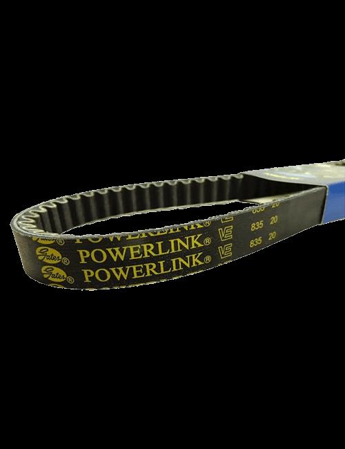 Juego de correas de transmisión PowerLink - detalle