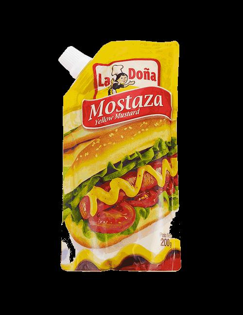 Mostaza La Doña 200g Original