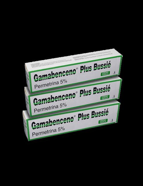 3 Gamabenceno Plus CREMA tubo 60g
