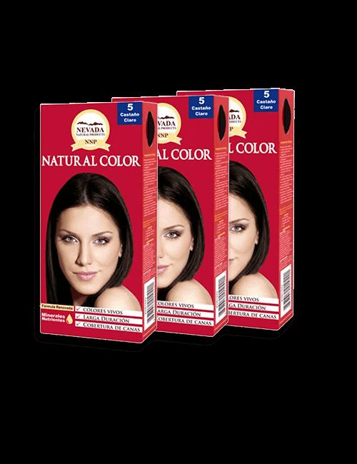 3 Tinte Natural Color – Castaño Claro 5