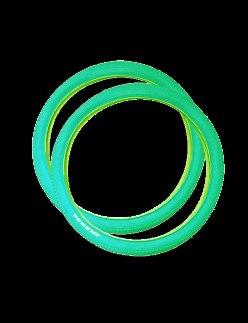 2 neumáticos para bicicleta 26 x 2.125 -Verde