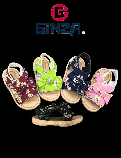 Sandalias Infantiles GINZA con Lazo
