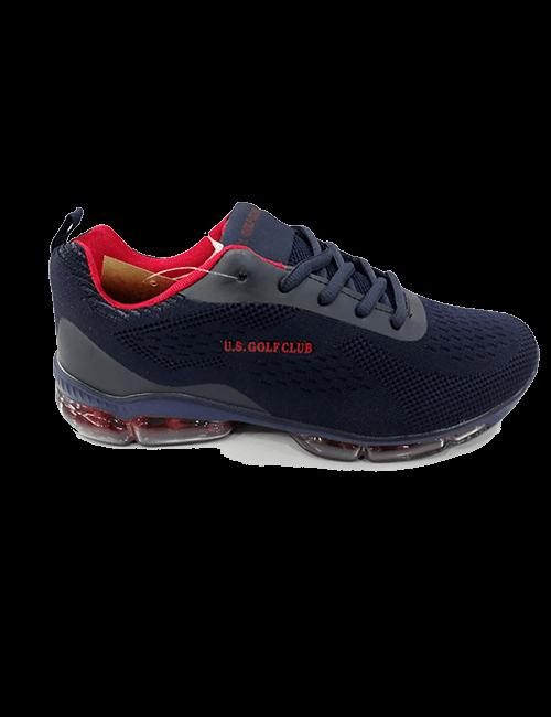 Zapatillas US Golf Club - Negro/rojo