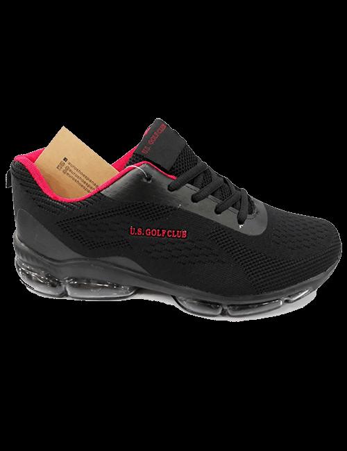 Zapatillas US Golf Club - Negro
